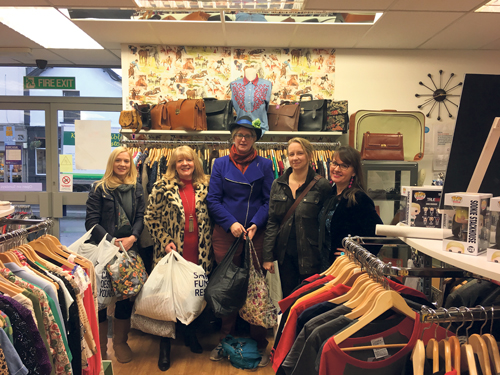 Take a personal stylist to the charity shop