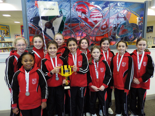 Redmaids' High Junior School is buzzing after a win in the regional round of the First Lego League earning pupils a place in the national final.