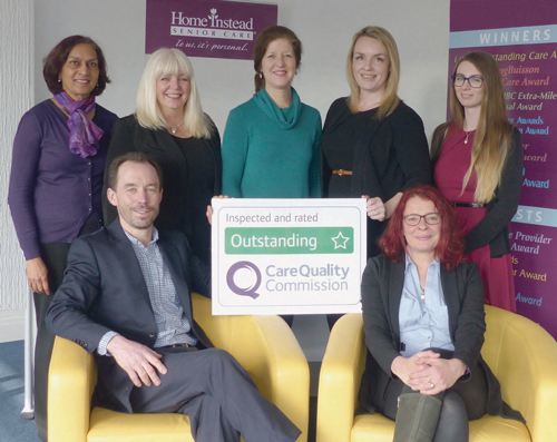 Care firm Home Instead rated Outstanding