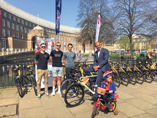 Festival of cycling joins up with Bristol Grand Prix for summer celebration