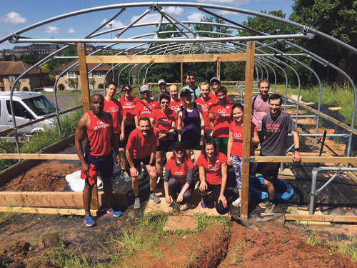 All in a day's exercise as Bristol GoodGym lends a hand at FHS