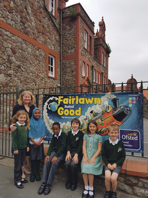 Fairlawn Primary School celebrates successful first Ofsted inspection