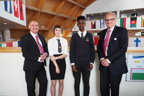 Lord Agnew visits FHS