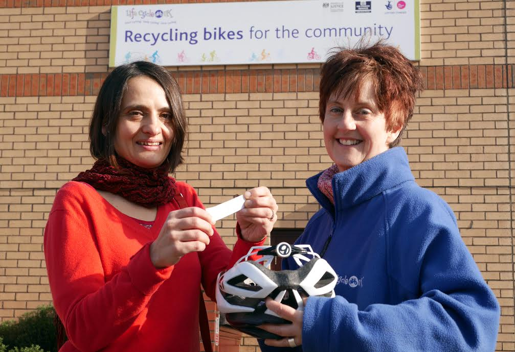 Pedal power on the rise thanks to innovative bike recycling project
