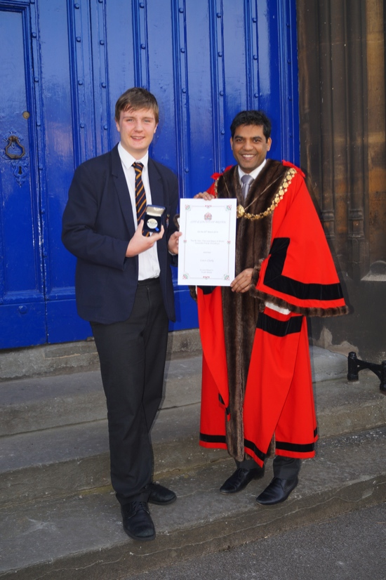 Lewis and Lord Mayor