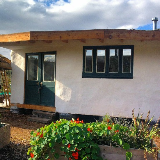 GHCG straw bale house