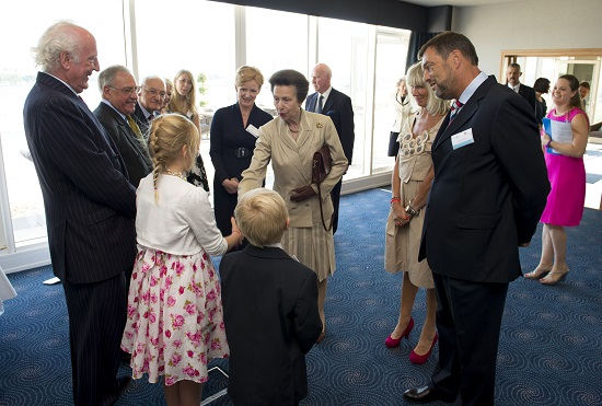 Maisy meeting Princess Anne