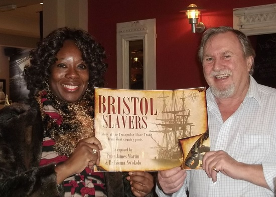 Dr-Isioma-Nwokolo-and-Peter-Martin-with-book-Bristol-Slavers