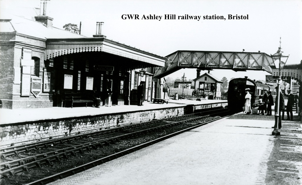 Ashley Hill railway station