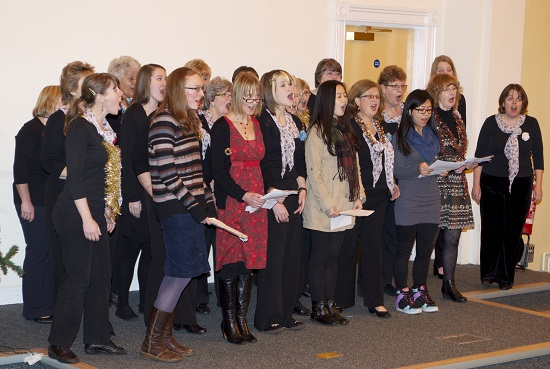 Avon Harmony Chorus group