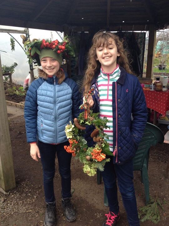 Wreath making at GHCG