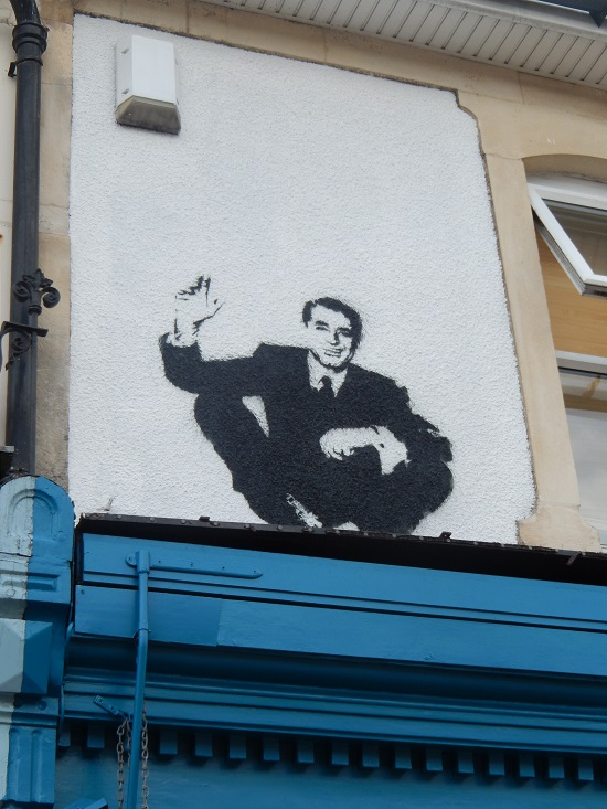 Cary Grant stencil by Stewy