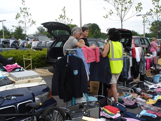 Redland Car boot sale