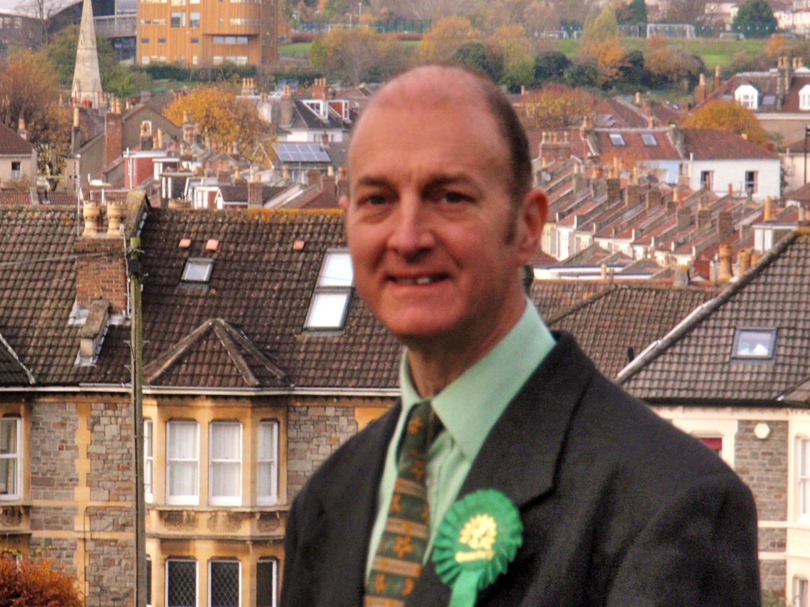 Green candidate for Redland, Martin Fodor