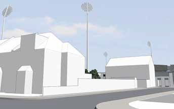 Revised floodlights