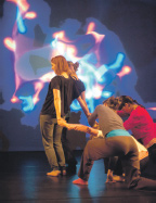 School pupils bring invisible atoms to life through dance
