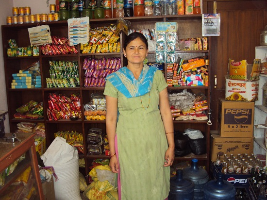 Ranju Kumari Karki uses her Deki loan to expand her grocery store