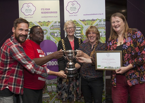 Bristol Garden Awards 2015, photo by Chris Bahn