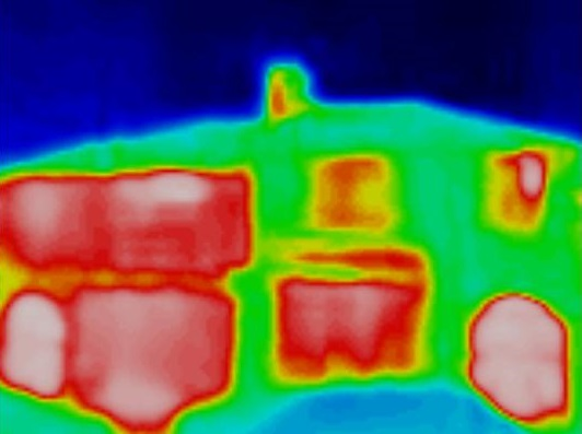 Heatview thermal image