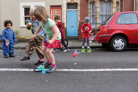 Bishopston families find out more on reclaiming roads for play