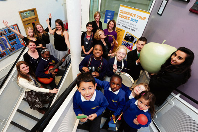 Arts at the core of schools' plans