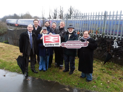 Campaigners call for start to rail project