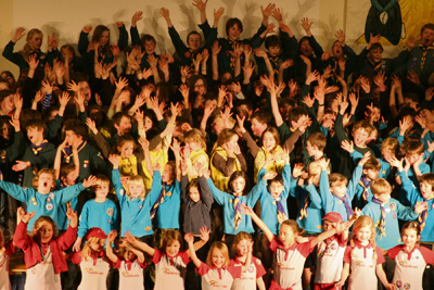 Bishopston Scouts look back on centenary year of fun