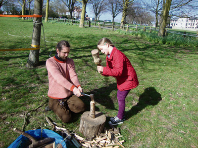 Play team brings family fun to Horfield Common