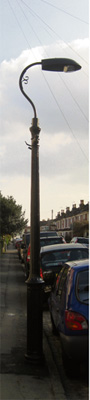 Call to save Bishopston's remaining Victorian lampposts