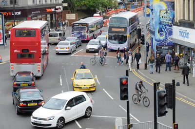 £400k cycle safety scheme for Gloucester Road takes shape