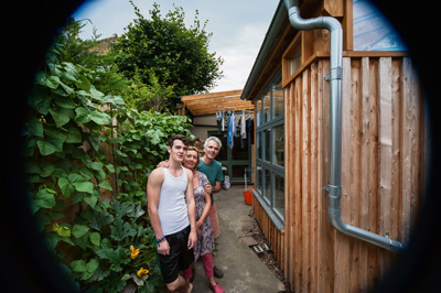 Bristol's greenest homes put out the welcome mat